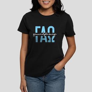 Gamma Alpha Omega Polka Dot Women's Dark T-Shirt