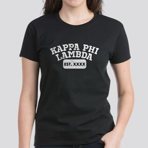 Kappa Phi Lambda Athletic Women's Dark T-Shirt