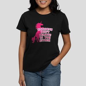 Unicorns Don't Believe in Women's Classic T-Shirt