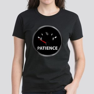 Out of Patience Fuel Gauge Women's Dark T-Shirt