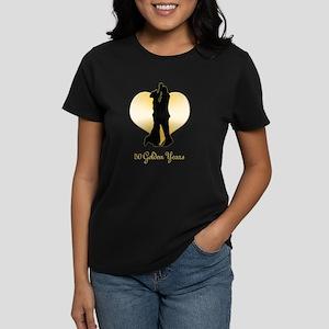 50th Wedding Anniversary Women's Dark T-Shirt