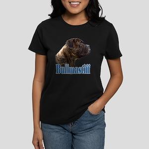 Bullmastiff(brindle)Name Women's Dark T-Shirt