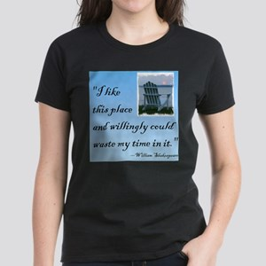 I like this place (2) Women's Dark T-Shirt