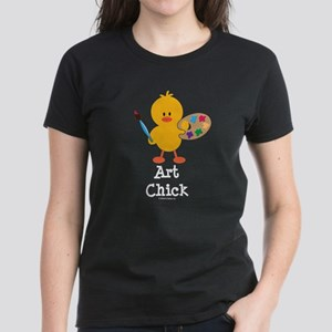 Art Chick Women's Dark T-Shirt
