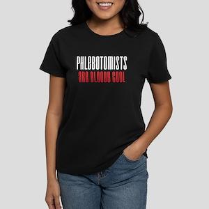Phlebotomists Women's Dark T-Shirt