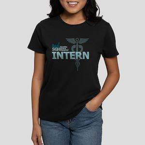 Seattle Grace Intern Women's Dark T-Shirt