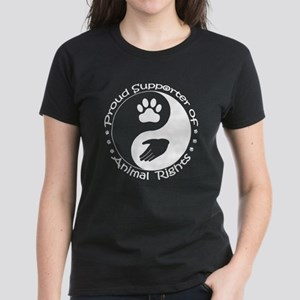 Supporter of Animal Rights Women's Dark T-Shirt