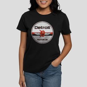 Detroit Motor Oil Women's Dark T-Shirt