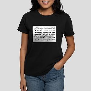 Greyhound FAQ T-Shirt