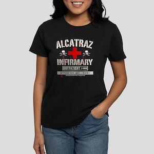 ALCATRAZ INFIRMARY Women's Dark T-Shirt