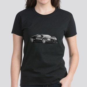 Bugatti Veyron, Women's Dark T-Shirt