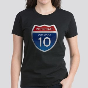 Interstate 10 Women's Dark T-Shirt