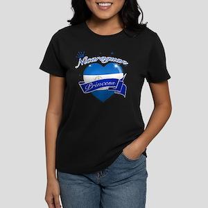Nicaraguan Princess Women's Dark T-Shirt
