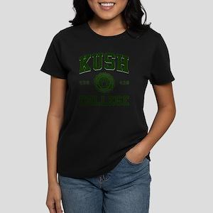 KUSH COLLEGE-2 Women's Dark T-Shirt