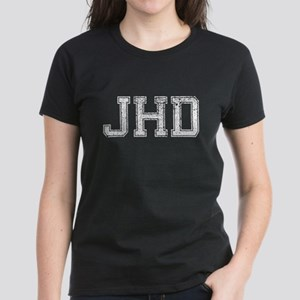 JHD, Vintage, Women's Dark T-Shirt