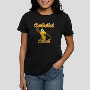Aerialist Chick #2 Women's Dark T-Shirt