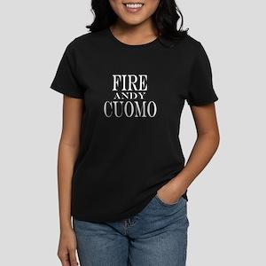 Fire Andy Cuomo Women's Dark T-Shirt