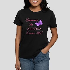 Arizona State (Butterfly) Women's Dark T-Shirt
