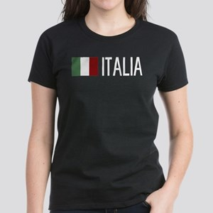 Italy: Italian & Italian Flag T-Shirt