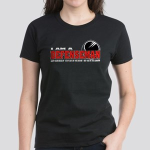 Defenseman Women's Dark T-Shirt