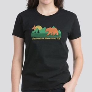 Adirondack Mountains NY Women's Dark T-Shirt