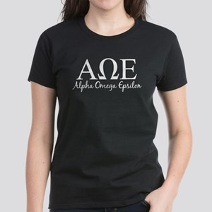 Alpha Omega Epsilon Women's Dark T-Shirt