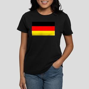 German Flag Women's Dark T-Shirt
