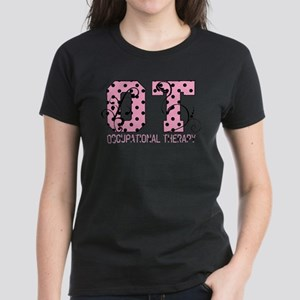 Lots of Dots Women's Dark T-Shirt