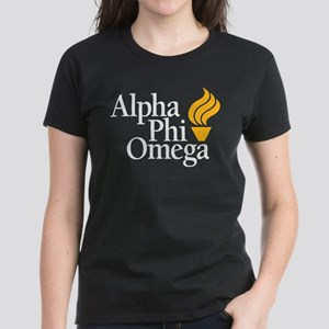 Alpha Phi Omega Fraternity Lo Women's Dark T-Shirt