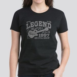 Legend Since 1997 Women's Dark T-Shirt