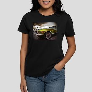 70 Mustang Mach 1 Women's Dark T-Shirt