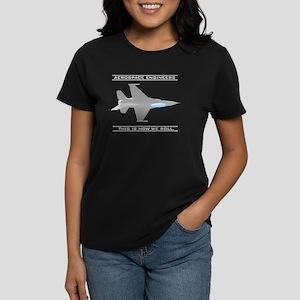 Aero Engineers: How We Roll Women's Dark T-Shirt
