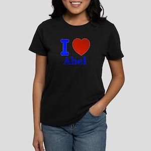 I love Abel Women's Dark T-Shirt