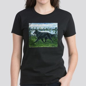 Belgian Sheepdog Patrol Women's Dark T-Shirt