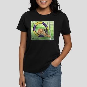 Belgian Tevuren Agility Women's Dark T-Shirt