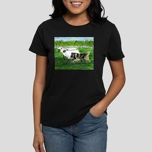 Belgian Tervuren Herding Women's Dark T-Shirt