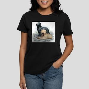 Svart-Fawn 3 T-Shirt