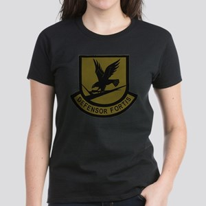 Subdued Defensor Fortis Women's Dark T-Shirt