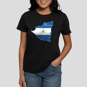 Cool Nicaragua Women's Dark T-Shirt