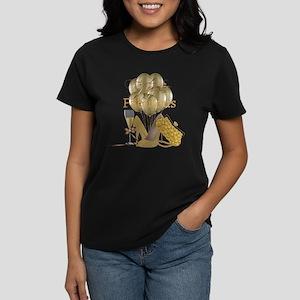 Fifty & Fabulous Elegant Gold Glam T-Shirt