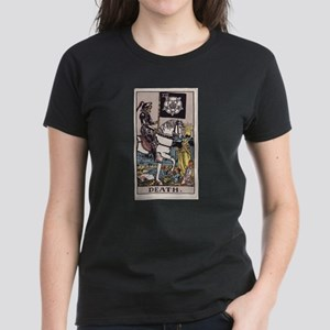 """""""Death"""" Women's Dark T-Shirt"""