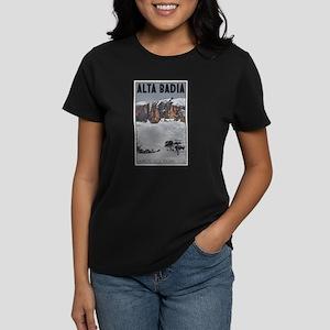 Alta Badia Women's Dark T-Shirt