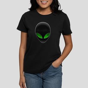 Cool Alien Earth Eye Reflection T-Shirt