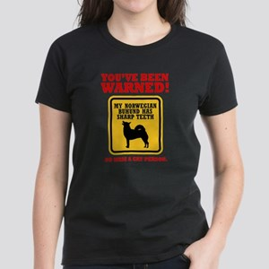 Norwegian Buhund Women's Dark T-Shirt