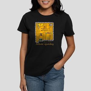 NM-Alber-quirky! Women's Dark T-Shirt