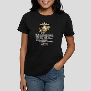 Once a Marine... Women's Dark T-Shirt