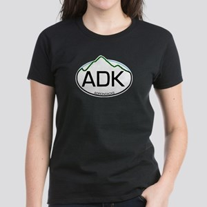 ADK Oval Women's Dark T-Shirt