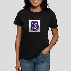 """10th Mountain Div """"Climb To G T-Shirt"""