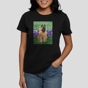 Belgian Tervuren Puppy Women's Dark T-Shirt