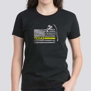 Texas Police Dispatcher Flag Gifts Shirt T-Shirt